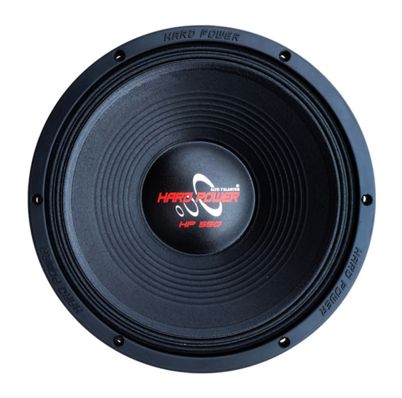 Woofer Hard Power 12 550w Rms 4 Ohms Tp Eros Ultravox Jbl