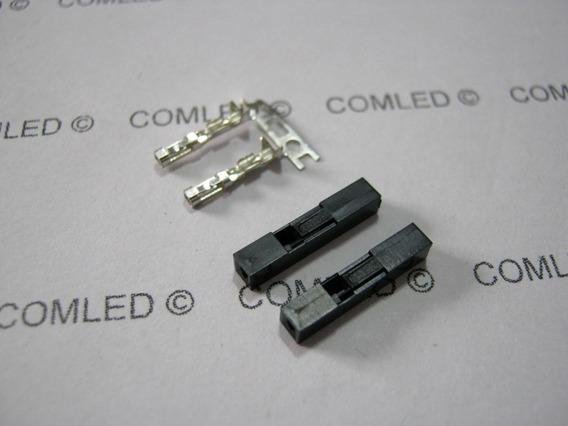 10x Conector 1 Pino Fêmea Placa Arduino Protoboard Led Hdd