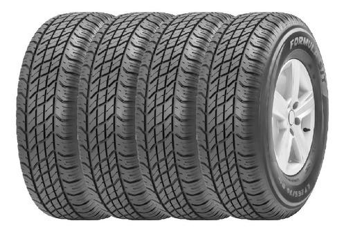 Combo X4 Neumaticos Pirelli 265/70r17 Formula S/t 112s