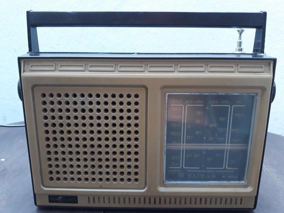 Radio Portatil Motoradio Modelo Rp-m65ac Pilha E Luz
