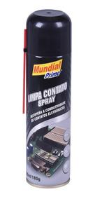 Limpa Contato Elétrico Spray 300ml Mundial Prime