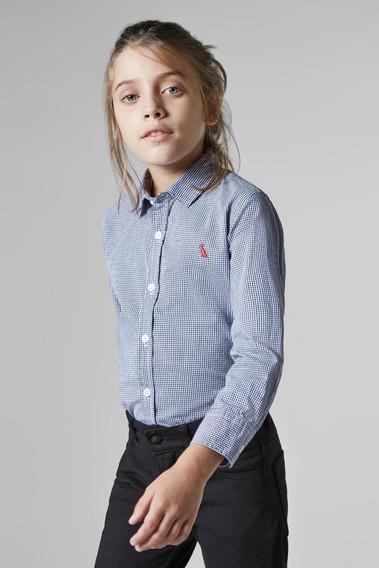 Camisa Mini Vichy Reserva Mini