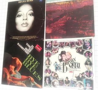 Lote De 4 Discos De Vinilo Música De Película Coleccion D08