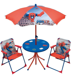 Jardin Garden Set Spiderman Hombre Araña Marvel En Jretro