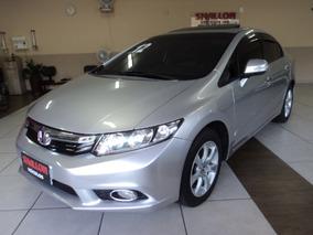 Honda Civic 1.8 Exs Flex Aut. 4p 2012/2012 Prata