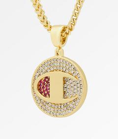 Corrente Champion Banhado Ouro 14k - Original Design L.a.