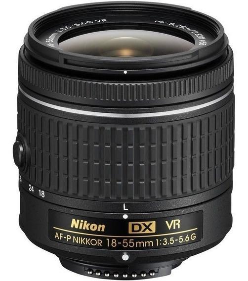 Lente Nikon Af-p Dx Nikkor 18-55mm F/3.5-5.6g Vr