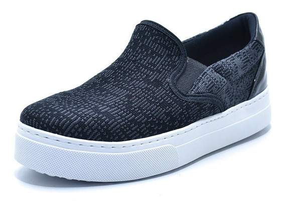 Tenis Casual Feminino Slip On Adulto E Infantil 25 Ao 40