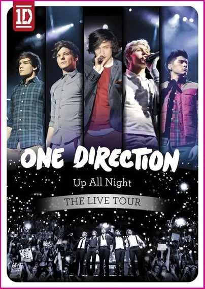 Dvd One Direction -up All Night The Live Tour -