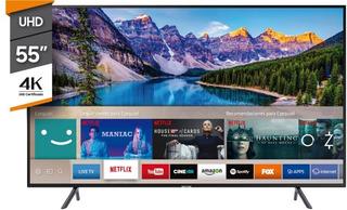 Tv Led 55p Nu7100 4k Smt Ia Samsung