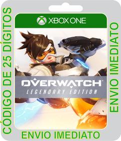 Overwatch: Edição Lendária Xbox One Código 25 Digito