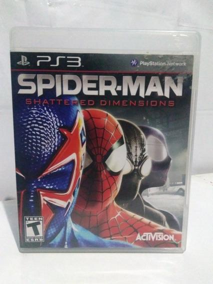 Jogo Spider Man Shattered Dimensions Ps3 M. Física R$149,90