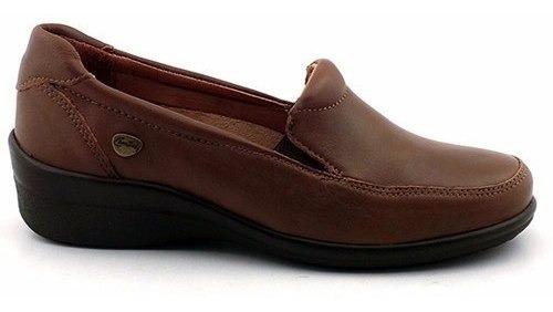 Mocasín Mujer Cuero Cavatini Zapato Chatita - Mcmo03571