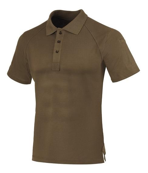 Camisa Polo Control Invictus Marrom Militar Original C/nota