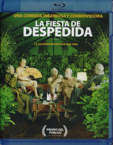 Imagen 1 de 3 de La Fiesta De Despedida The Farewell Party Pelicula Blu-ray