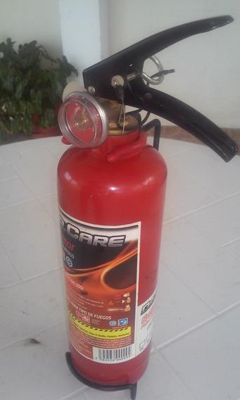 Extintor De Polvo Químico Seco De 2,5 Kg