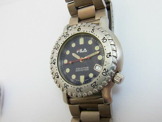 Reloj Fila Aquatime Swiss Made Cuarzo Movimiento Suizo Eta.