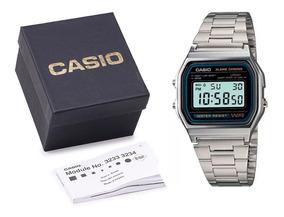 Relogio Casio A158 Unissex Original Retrô C Box E Nf