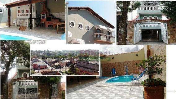 Sobrado Com 3 Dormitórios À Venda, 340 M² Por R$ 395.000,00 - Vila Antônio Augusto Luiz - Caçapava/sp - So0697