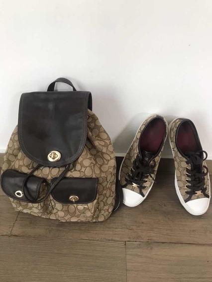 Mochila Bag Pack Coach Original