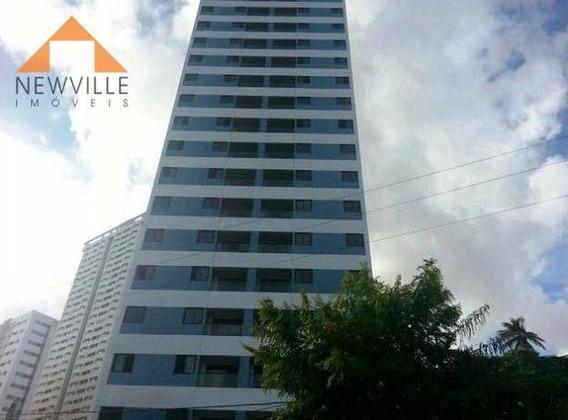 Apartamento Com 2 Quartos Para Alugar, 64 M² Por R$ 2.400/mês - Encruzilhada - Recife/pe - Ap2067