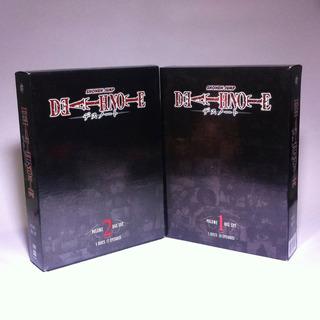 Death Note Anime - Dvd - Serie Completa (inglés) - $1200