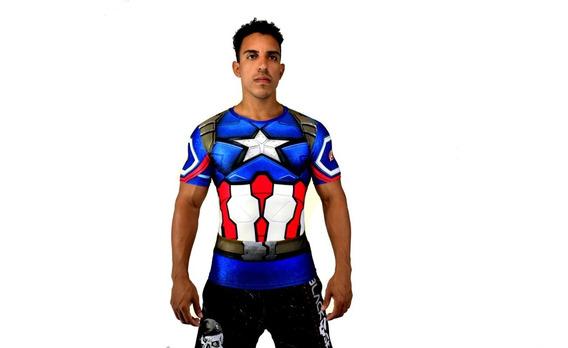 Camiseta Camisa Masculina Super Heróis Marvel Os Vingadores!