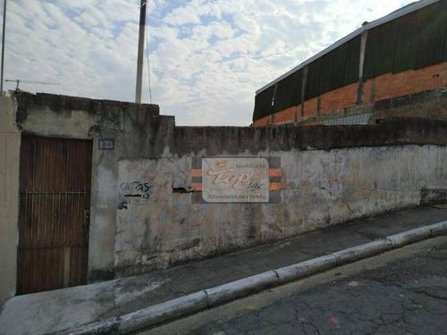 Terreno À Venda, 202 M² Por R$ 265.000 - Vila Pereira Cerca - São Paulo/sp - Te0083