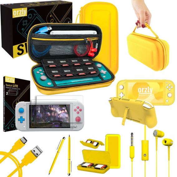 Funda Estuche Bolso Nintendo Switch Lite Mica Protector