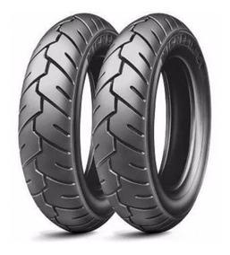 Par Pneu Michelin 350-10 + 350-10 Suzuki Burgman Smart 125