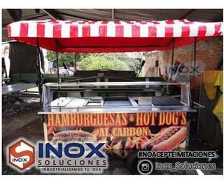 Se Vende Carro Hot Dog Grill Carreta Fritura Comida Rápida