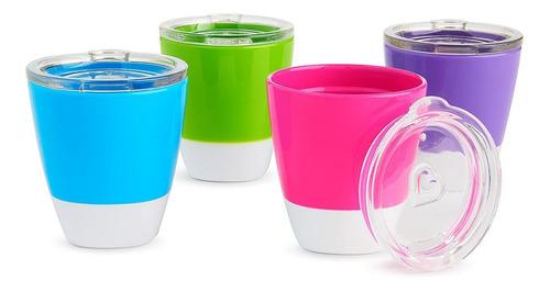 Imagen 1 de 8 de Munchkin Splash Vasos Para Niños Con Tapas De Entrenamiento