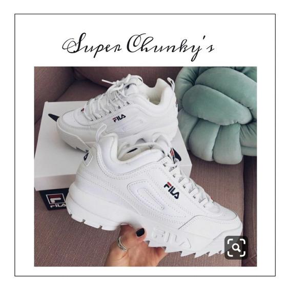 Zapatillas Super Chunkys Fila