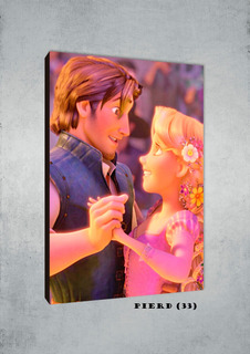 Cuadros Poster Disney Enredados Xl 33x48 (erd (33)