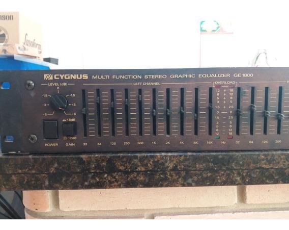 Equalizador Cygnus Ge1800x Sem Knobs