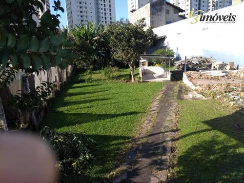 Terreno Na Avenida Sete De Setembro No Fazenda - Itajaí Sc - Te0132
