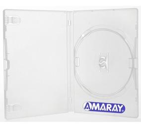 50 Estojo Caixa Capas Box Dvd Amaray Transparente Sony