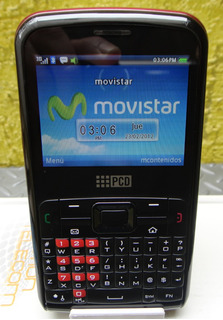 Celular Pcd Te-1303mx ( Movistar ) Muy Buen Celular
