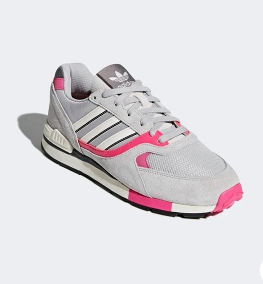 Tenis adidas Quesence 27.5 Mex Gris Con Rosa