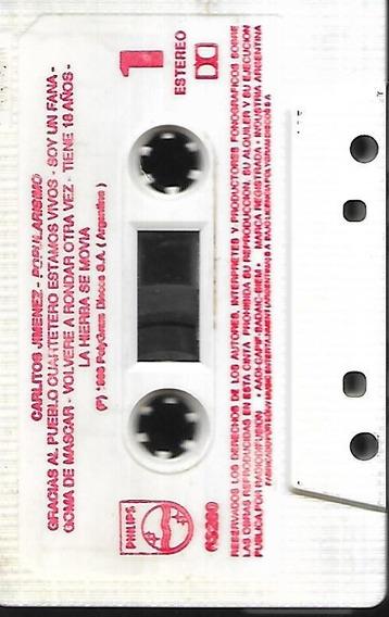 Carlos La Mona Jimenez Album Popularisimo Cassette Sin Tapas