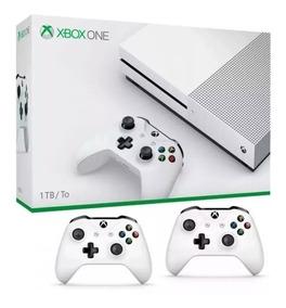 Console Xbox One S 1tb E 1 Ano De Garantia, 2 Controle E N F