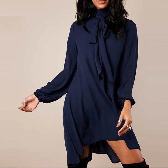 Vestido Color Navy Azul Tallas Extras 5xl Mexico 2xl 3xl 4xl