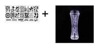 Placa De Imagem Série Xy-l + Carimbo Duplo Transparente
