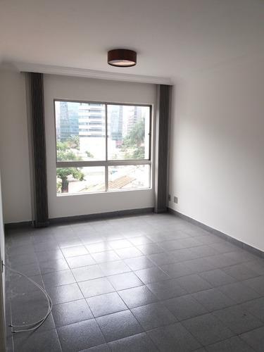Imagem 1 de 12 de 607- Excelente Apartamento Na Vila Nova Conceição 107,37m²