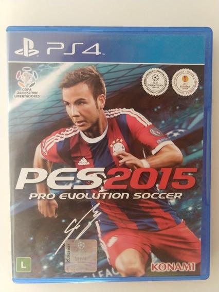 Pes 2015 - Pro Evolution Soccer - Ps4 - Conservado