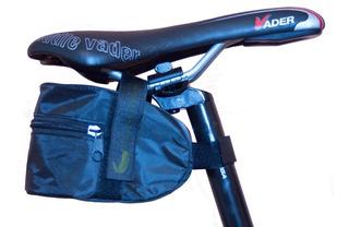 Bolso Para Asiento De Bicicleta Reforzado Sistema De Abrojo