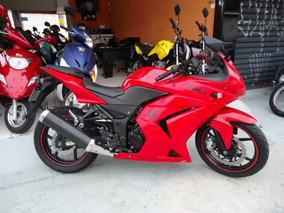 Kawasaki Ninja 250r 2010 Vermelha Maravilhosa