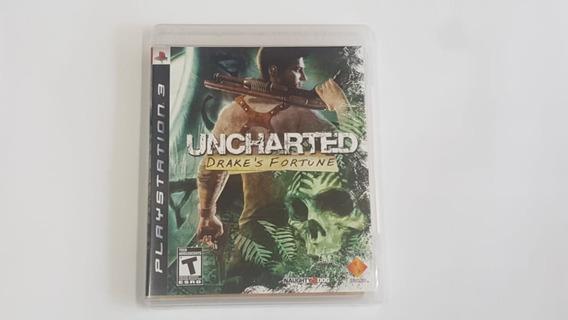 Jogo Uncharted Drakes Fortune - Ps3 - Original