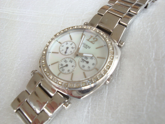 Relogio Quartz W11003l1 Guess Japan Mov T - Usado No Estado