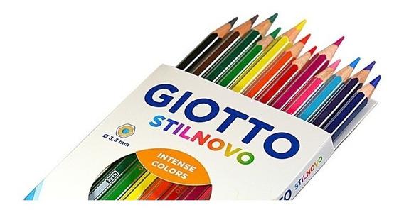 Lapices De Colores Giotto Stilnovo Estuche X 12 Colores
